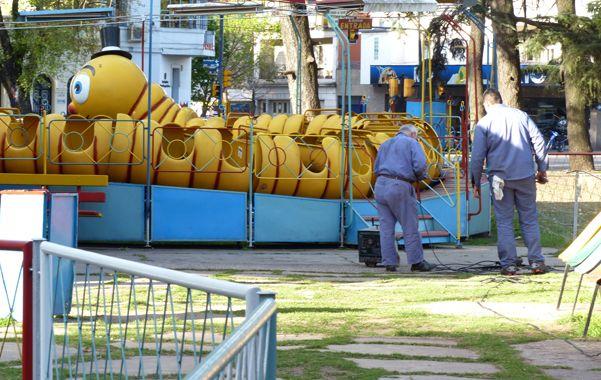 """El más famoso. El """"Gusano loco"""" es una de las atracciones del parque de diversiones que comenzó a funcionar en el Independencia en 1938. (foto: Angel Amaya)"""