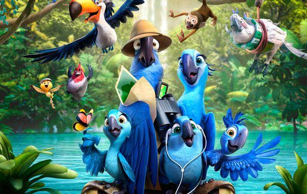 La familia unida. Blu