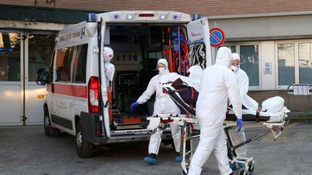 Otra jornada trágica en Italia: 627 muertos en 24 horas llevaron el total a 4.032