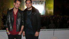 Hermanos. Chano y Bambi compartieron la banda Tan Biónica, que se desarmó hace varios años.