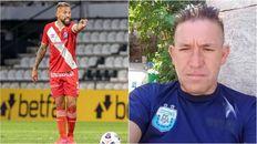 Miguel Torren, jugador de Argentinos Juniors, despidió a su hermano Anastacio Luis, asesinado a balazos en barrio Triángulo de Rosario.