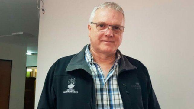 Alberto Botto. Secretario general de Luz y Fuerza de Rosario.