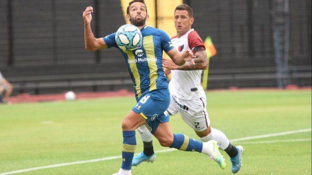 Lucas Gamba marcó el gol del descuento