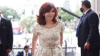 Polémica por la entrada de Cristina Kirchner al Congreso sin el barbijo puesto