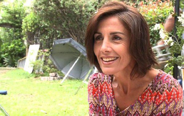 La actriz se enamoró de Santiago García Rosa