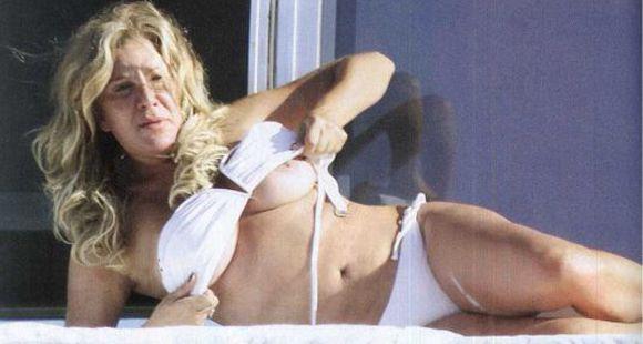 El inesperado topless de Reina Reech en Punta del Este