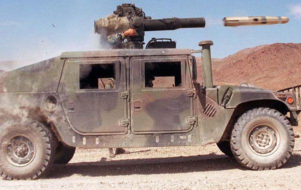 Efectivo. El misil (arriba derecha) es uno de los más usados por decenas de países.