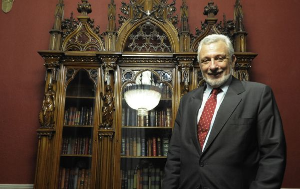 Silberstein se hará cargo de la cartera de Justicia en el futuro gabinete de Lifschitz. (Marcelo Bustamante / La Capital)