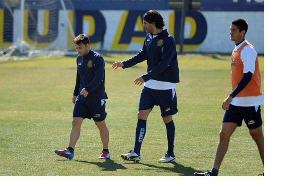 Abreu y Niell estarán en el ataque canalla el domingo ante Colón.