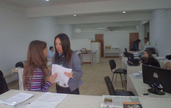 En el ministerio público de la Acusación. Lorena Aronne