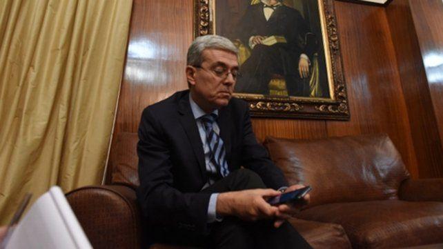 Cuentas. El ministro de Economía señaló que se trabaja con la Ansés por la deuda con la Caja de Jubilaciones.