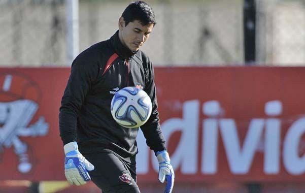 Guardameta. Ustari tuvo una gran actuación ante Vélez y pretende repetir.