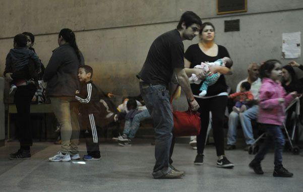 En el Vilela y en el de Niños Zona Norte llueven las consultas por cuadros respiratorios.