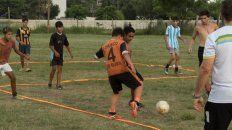 Por ahora lso entrenamientos son en Seguí y Solìs.
