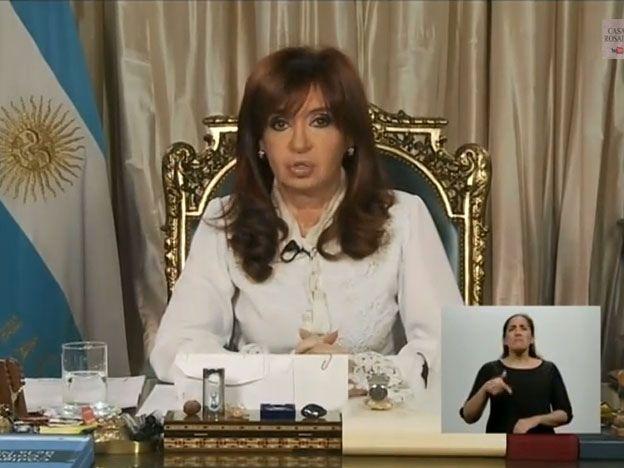 """Desde el despacho. Cristina dijo que la reforma responde a una """"demanda de todos los juristas y de la sociedad""""."""