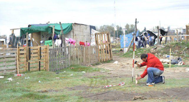 Las tomas recrudecieron en Rosario durante los meses de pandemia.