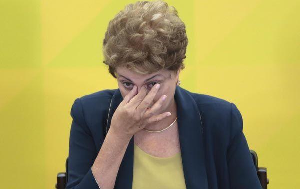 """en problemas. Dilma enfrenta una crisis económica """"severa"""" según la Ocde. (NA)"""