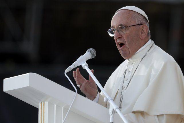 El Papa dijo que los índices de desocupación en Argentina son significativamente altos