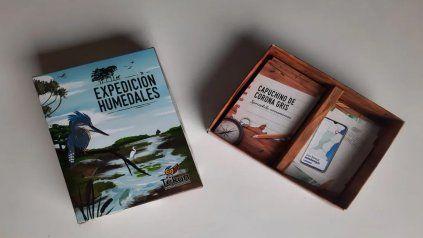 Expedición Humedales, el juego de cartas que busca concientizar sobre la situación de las especies naturales de las islas.