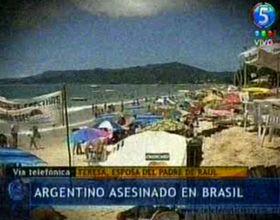 Florianópolis: frente a su familia, matan de un balazo a un turista argentino para robarle el auto