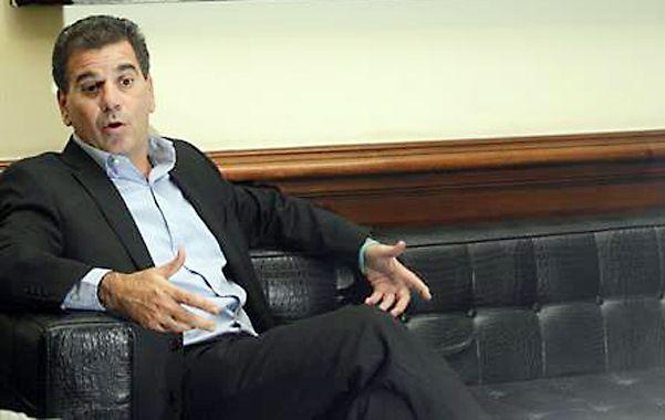 """Ritondo. El ministro de Seguridad bonaerense dijo que """"los prófugos tienen muchos contactos y se entremezcla la política""""."""