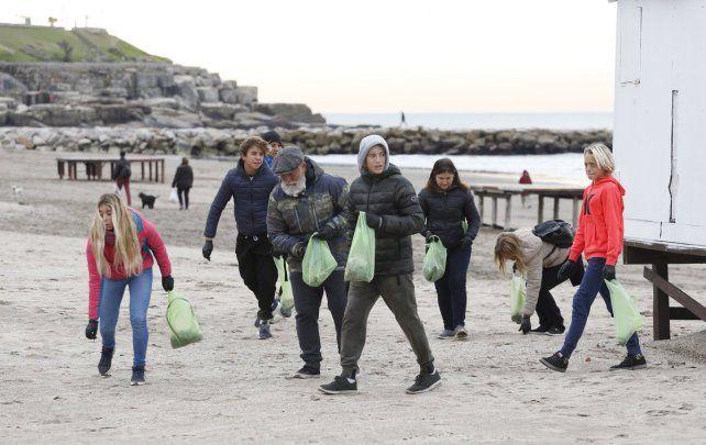 El plogging empezó en Mar del Plata en 2018 y rápidamente se expandió por el país.