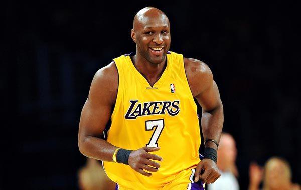 Odom supo brillar vistiendo la camiseta de Los Angeles Lakers.