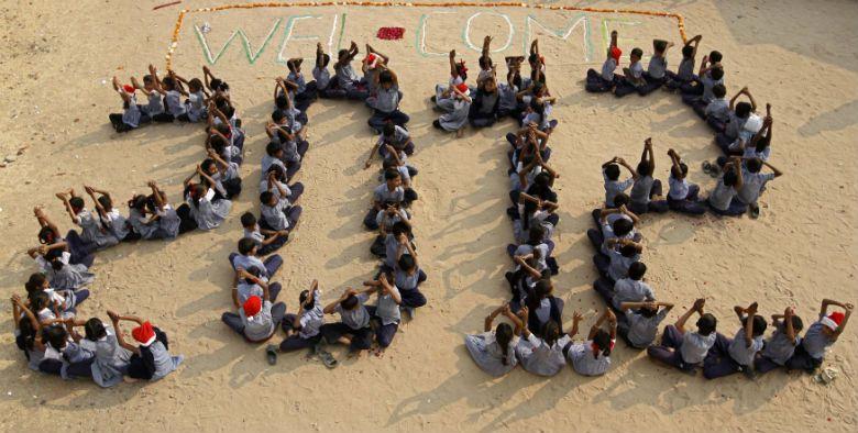 Varios países del otro lado del planeta ya recibieron el 2012 con festejos espectaculares