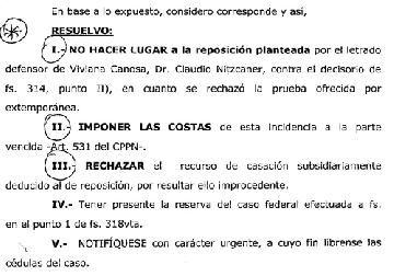 A juicio oral y sin testigos: La Justicia rechazó la apelación de Viviana Canosa