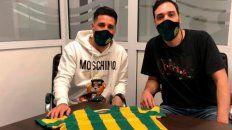 Federico Milo se fue de Unión y firmó en Aldosivi