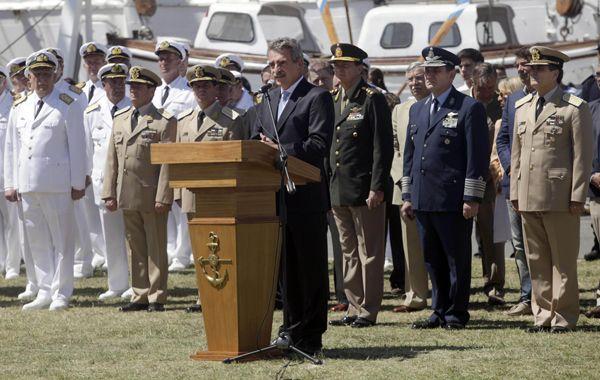 """El titular de la cartera de Defensa señaló que """"casi ningún país tiene servicio militar obligatorio hoy en el mundo."""