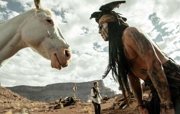 Silver y toro. Johnny Depp en su singular interpretación.