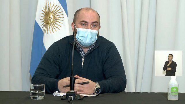 Bachetti y Garcilazo hablan de la continuidad del Plan Rector de Vacunación contra el Covid-19 y la situación epidemiológica de la provincia de Entre Ríos.