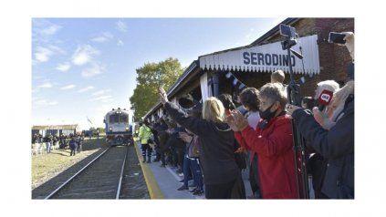La vuelta del tren a Serodino