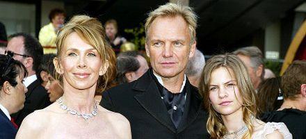 Sting está disgustado por las amistades complicadas de su hija