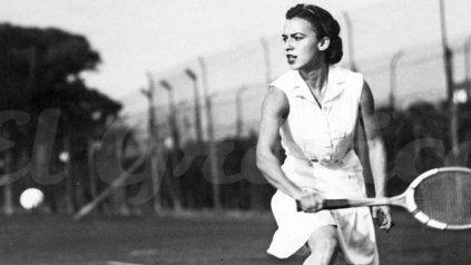 Mary Terán de Weiss, jugó en Roland Garros tanto en 1948 como en 1952 y será una de las deportistas recordadas en el nuevo circuito.