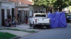 Ocampo fue baleado cuando estaba en el frente de su casa.