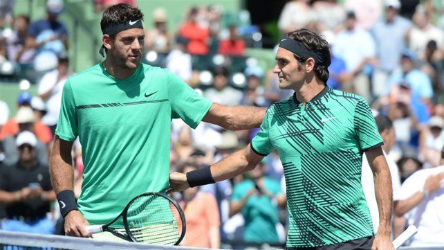 Federer y Del Potro jugarán una exhibición en Argentina