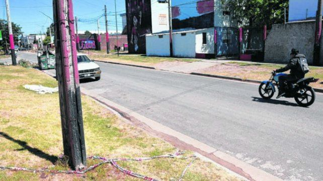 El lugar donde se produjo el asesinato de Romero.
