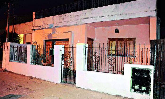 La casa donde Candela pasó los últimos minutos con vida (fotogalería)