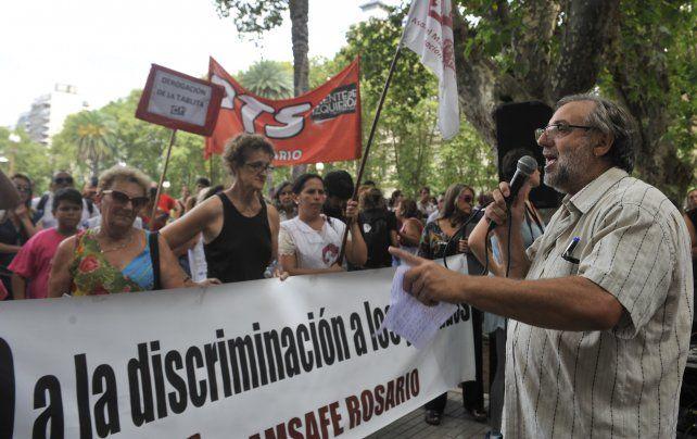 Gustavo Terés adelantó además que la propuesta salarial del gobierno provincial será rechazada. (Foto de archivo)