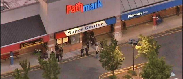 El centro comercial donde un joven de 23 años disparó contra sus compañeros con un fusil AK-47