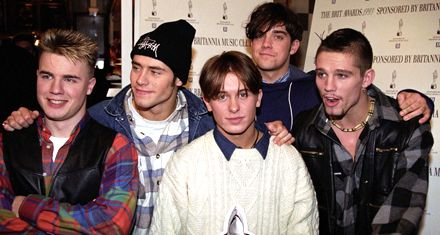 Robbie Williams celebra su reconciliación con Take That