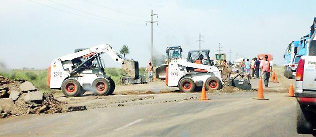 Reducción. En 2012 se bajaron las obras de bacheo por contratación que desde ahora se harán directamente por Vialidad.