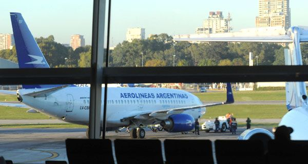 No salen vuelos desde el aeroparque porteño por un conflicto gremial