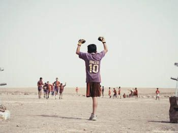 Aclaman Baghdad-Messi, corto de un niño iraquí fan de Lio