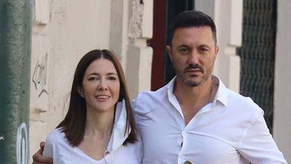 A Cristina Pérez y el diputado Petri se los vio caminando muy acaramelados por las calles de Buenos Aires. Estamos enamorados, coincidieron. (Foto: gentileza de Teleshow)