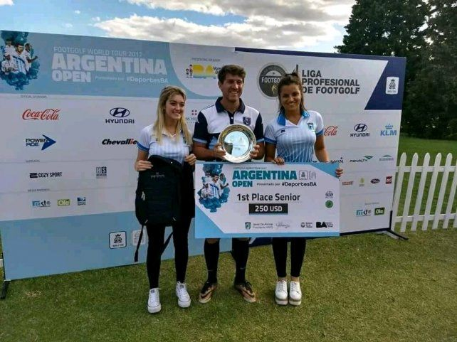 El mejor entre los suyos. El entrerriano se adjudicó el último Open Argentina en Buenos Aires para cerrar de la mejor manera 2017