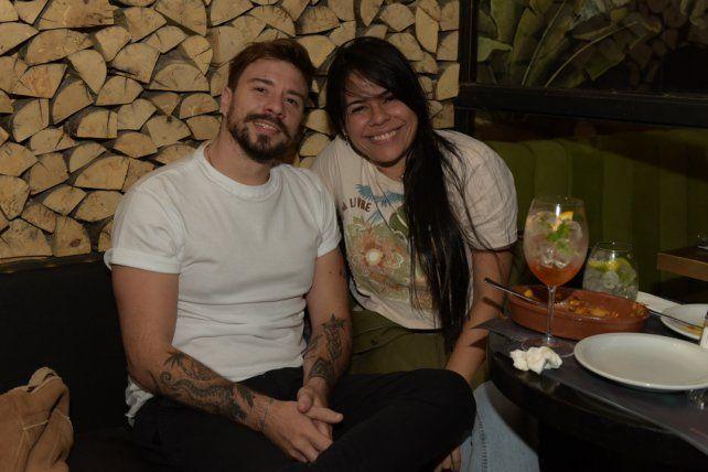 Leo Acosta y Mai Ximenez