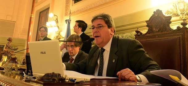 Rubeo no prestó su aval al proyecto del diputado Acuña.